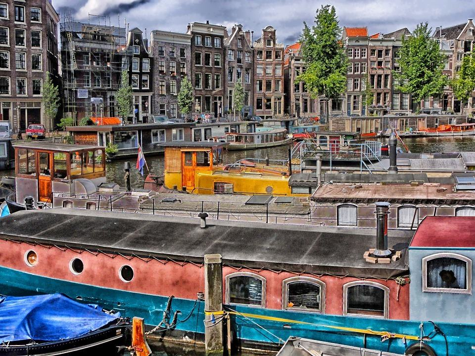 working in amsterdam